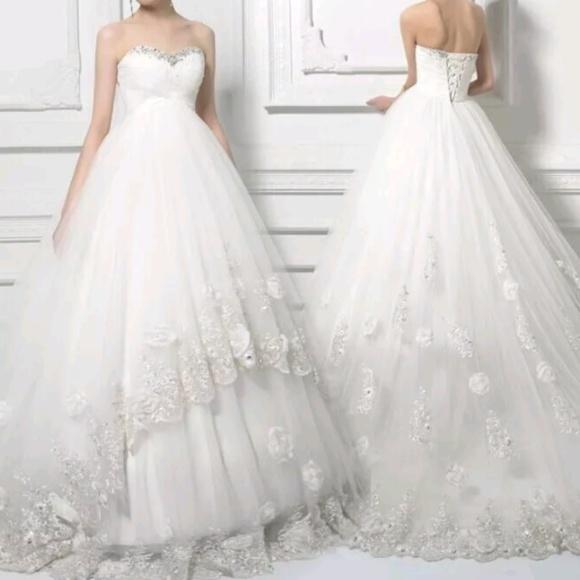 Dresses | Maternity Sweetheart Ball Gown | Poshmark